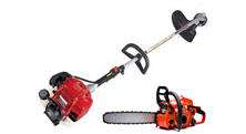 Chainsaw and other petrol-powered tools