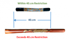 Within 40cm restriction