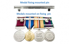 Medal fixing pins