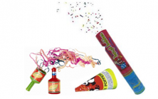 pi party poppers